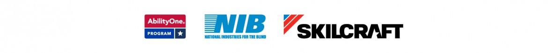AbilityOne logo, NIB logo and SKILCRAFT logo